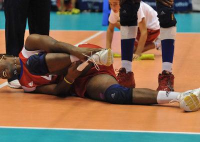 Distorsioni della caviglia e artrosi Volley