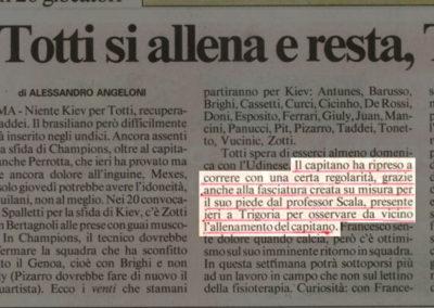 Operazione di Francesco Totti