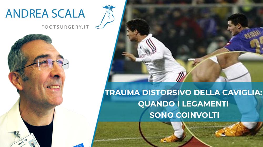 trauma caviglia