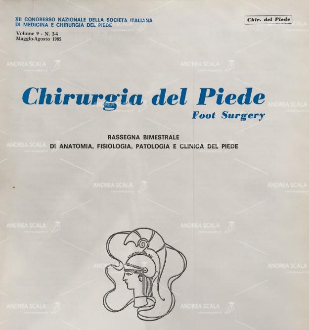 Libro Chirurgia del piede copertina