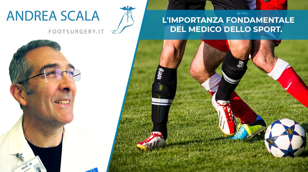 L'importanza fondamentale del medico dello sport