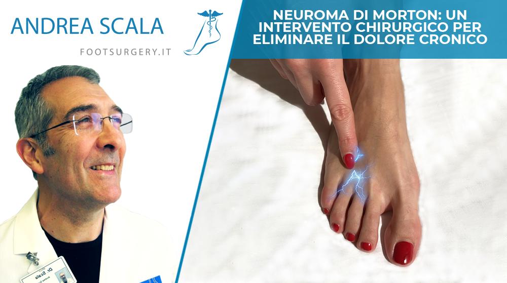 Neuroma di Morton: un intervento chirurgico per eliminare il dolore cronico