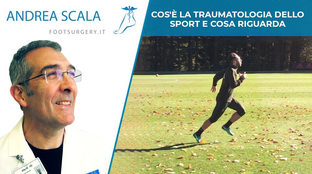 Cos'è la traumatologia dello sport e cosa riguarda