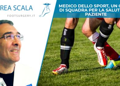 Medico dello sport, un gioco di squadra per la salute del paziente