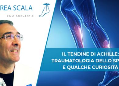 Il tendine di Achille: Traumatologia dello sport e qualche curiosità