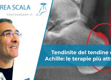 Tendinite del tendine di Achille: le terapie più attuali